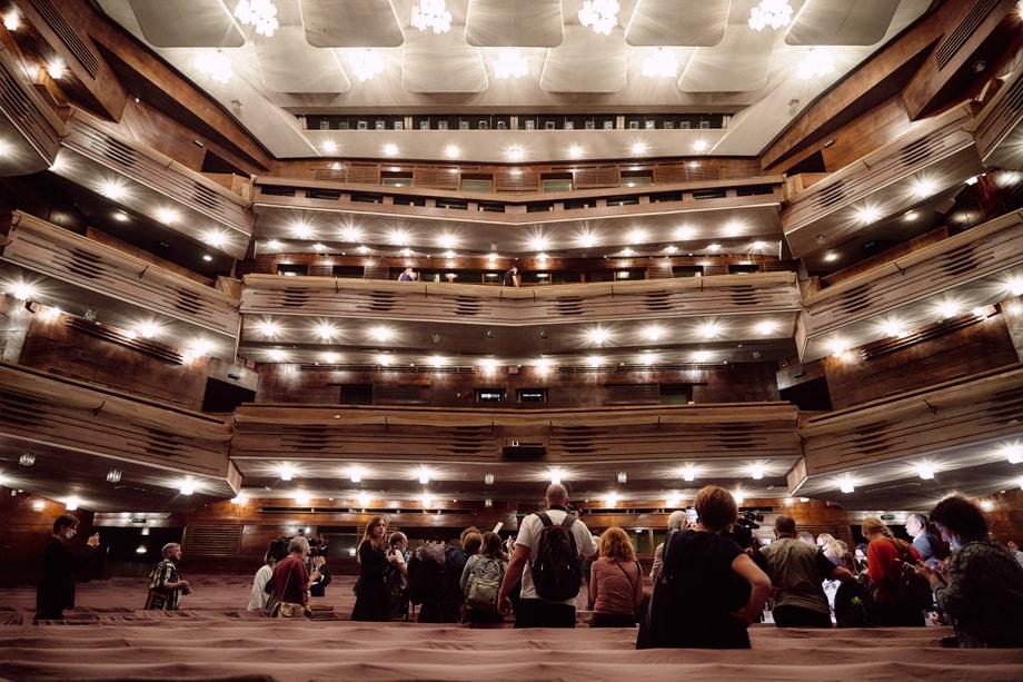 Зрительский зал.