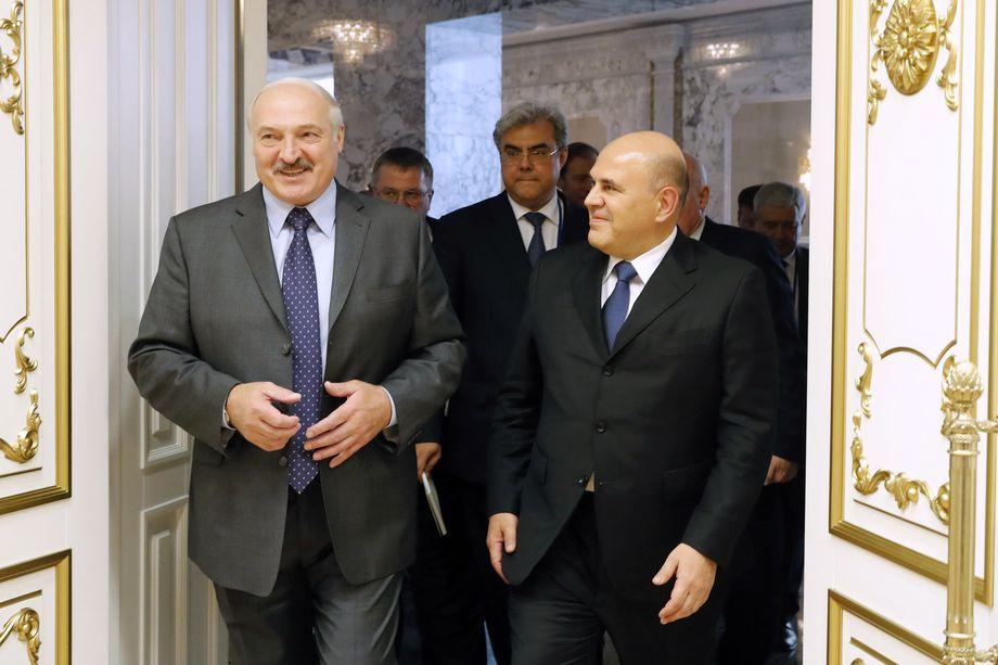 Премьер-министр РФ Михаил Мишустин встретился с президентом Белоруссии Александром Лукашенко.
