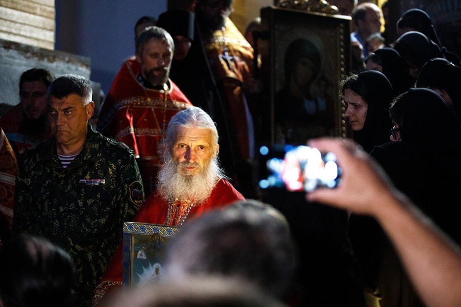 Схиигумен Сергий был лишён сана по решению патриарха Кирилла.