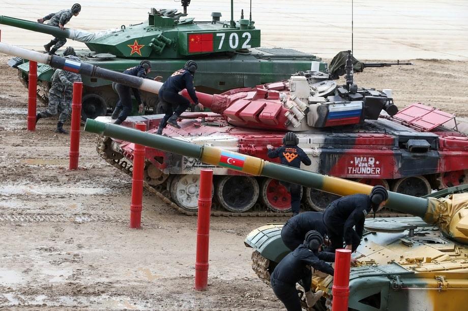Военные соревнования прошли с 23 августа по 5 сентября на подмосковном полигоне «Алабино».