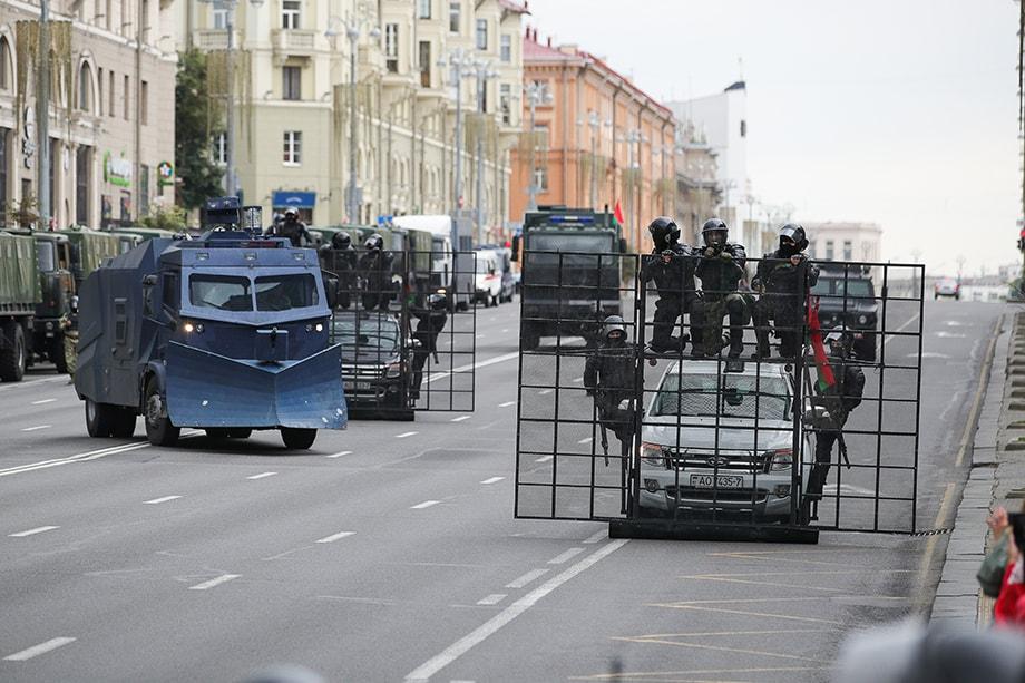 Массовые протесты в республике начались 9 августа после подведения итогов выборов главы государства.