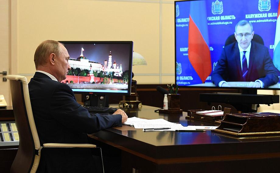 Шапша попросил Владимира Путина рассмотреть вопрос о помощи региональному бюджету для решения проблем в строительной области.