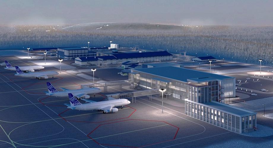 Так может выглядеть новый аэропортовый комплекс в Мирном.