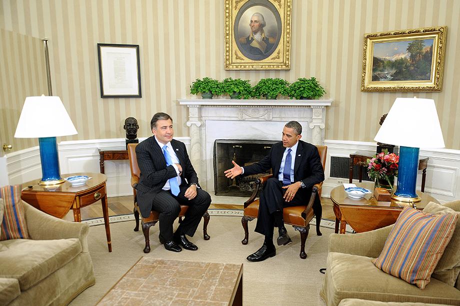 У Саакашвили всегда была поддержка из США, а в последнее время она только усилилась.
