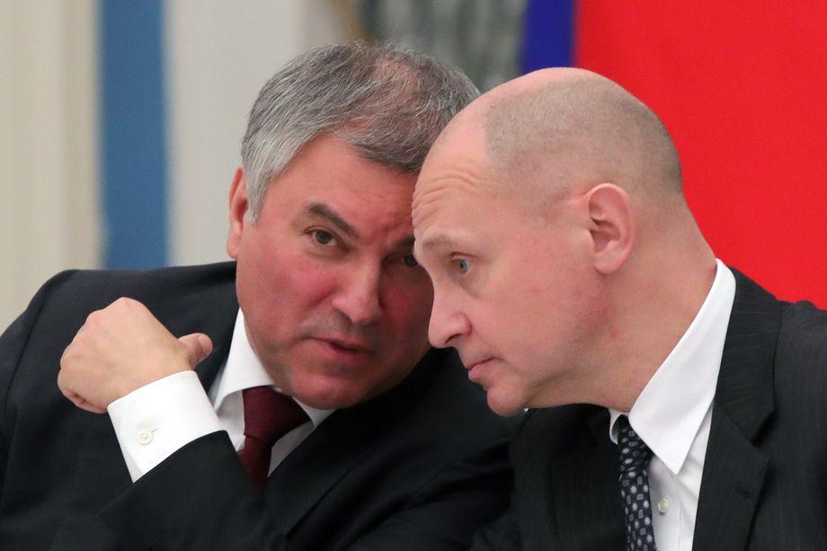 Борьба Володина и Кириенко перешла уже в открыую фазу.