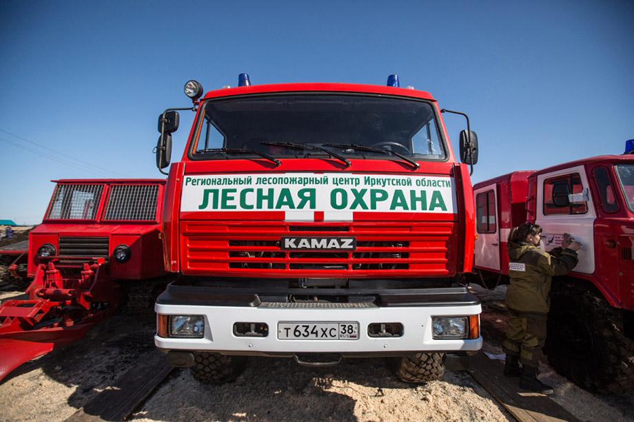 Общая площадь возгорания составила 205 га.