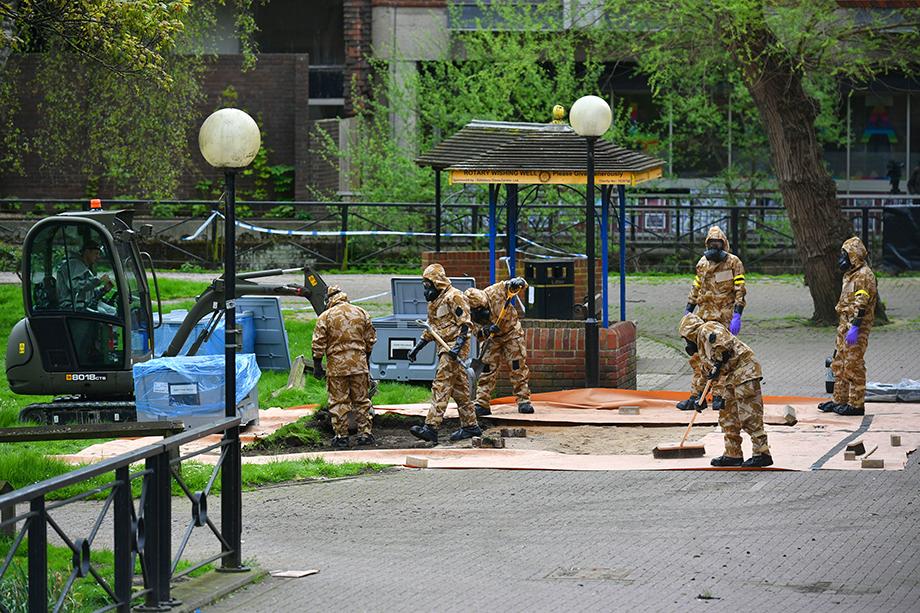 Операция в Солсбери по очистке мест, связанных с отравлением «Новичком» экс-полковника ГРУ Сергея Скрипаля и его дочери.