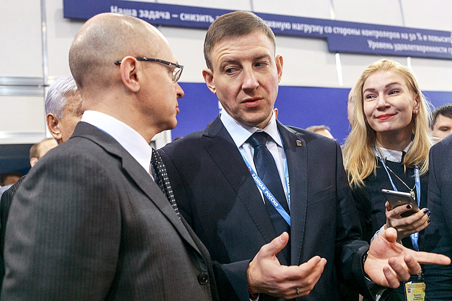Между Андреем Турчаком (справа) и Сергеем Кириенко (слева) давно наблюдается полное отсутствие взаимопонимания.