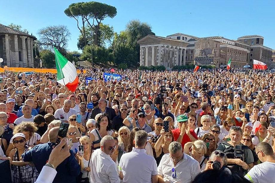 Римская акция «Нации мам» 5 сентября стала одной из самых крупных, организованных членами движения.