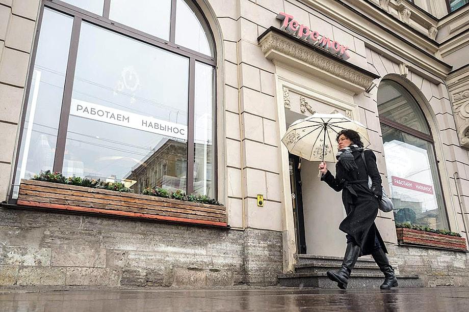 По словам основателя ресторанов «Теремок», его заведениям удалось пережить временное закрытие за счёт бренда и наличия сети.