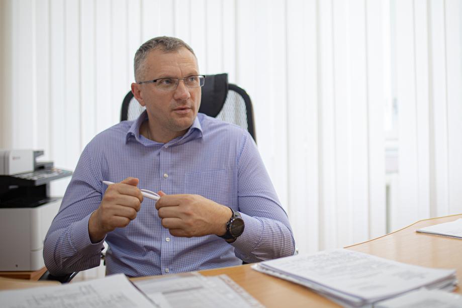 """Директор по переработке ОАО «Птицефабрика """"Рефтинская""""» Борис Сёмин."""