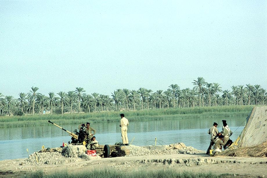 Река Шатт-эль-Араб – камень преткновения в отношениях между Ираном и Ираком.