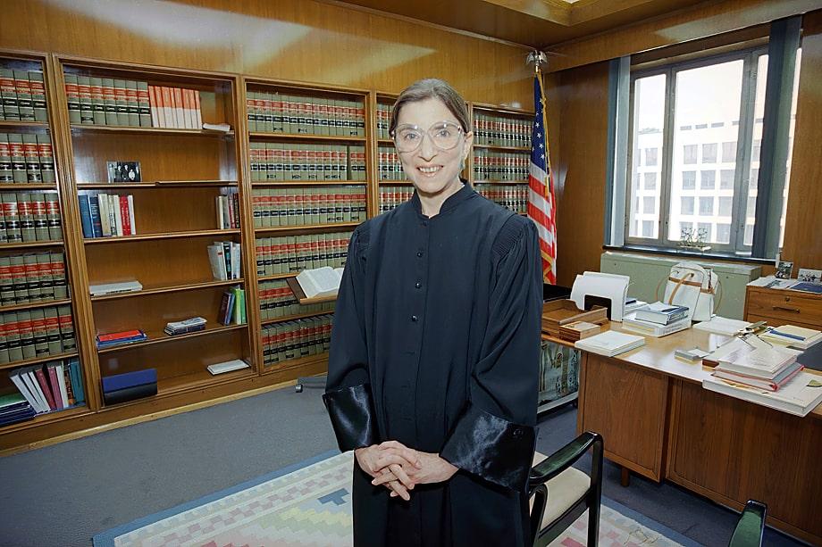 Рут Бейдер Гинзбург была одной из самых уважаемых судей с демократичными взглядами.
