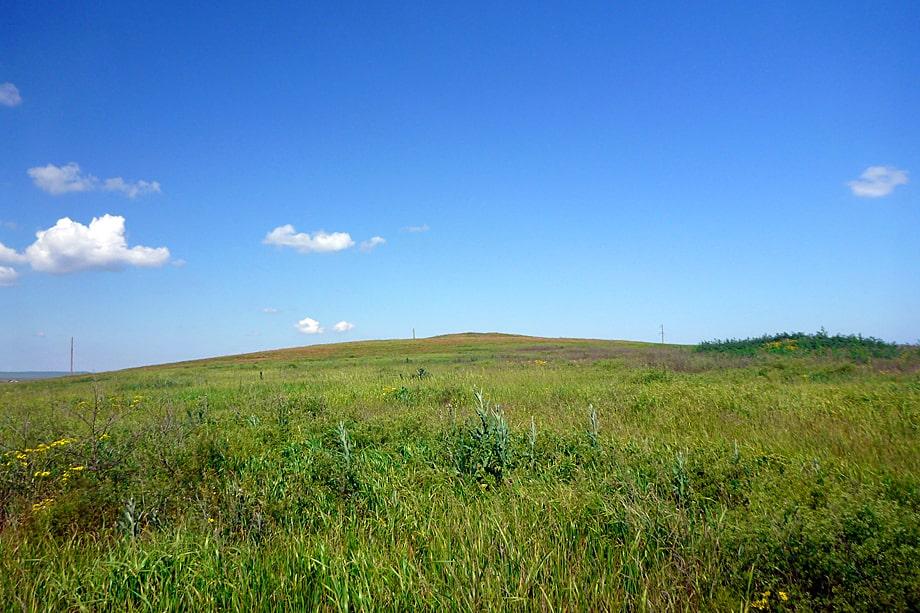Гора Колодезная. Парпачский хребет.
