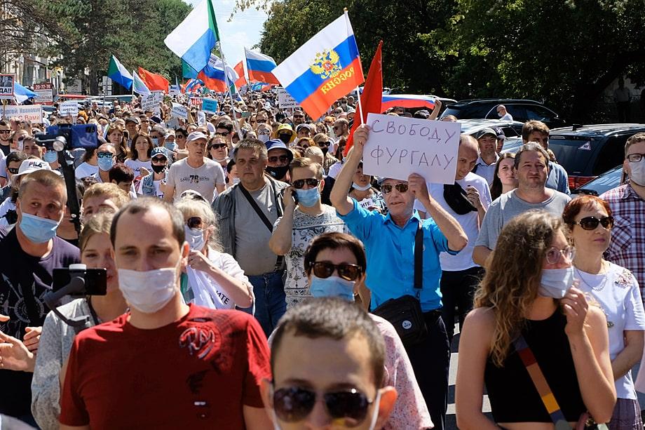 Хабаровские протесты – призраки зреющего где-то «майдана».
