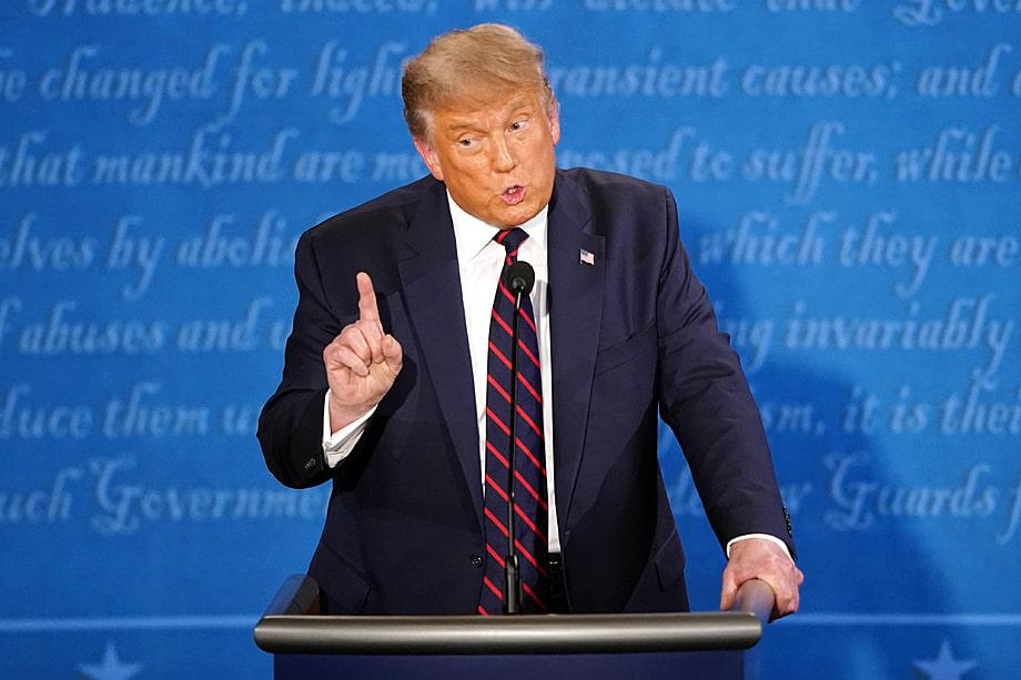 Дональд Трамп, президент США: «Они отправляют миллионы бюллетеней по всей стране. <...> Это будет мошенничество, подобного которому вы никогда не видели. Это здорово: 3 ноября вы смотрите и видите, кто выиграл выборы. <...> Но знаете, что? Возможно, мы не узнаем [имя победителя] в течение нескольких месяцев».