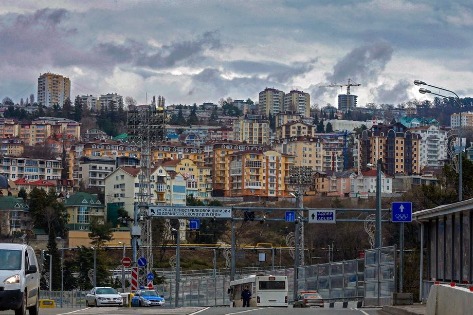 В Сочи строится очень много жилья. И купить его просто. Но не факт, что вы сможете в нём жить.