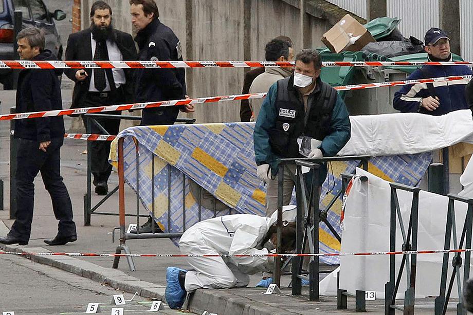 Обстановка в Тулузе после нападения религиозного фанатика на еврейскую школу.