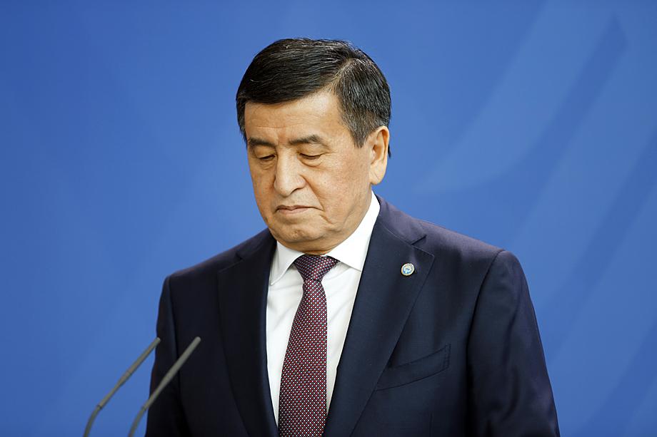 Президент Киргизии Сооронбай Жээнбеков назвал случившееся «попыткой захвата власти».