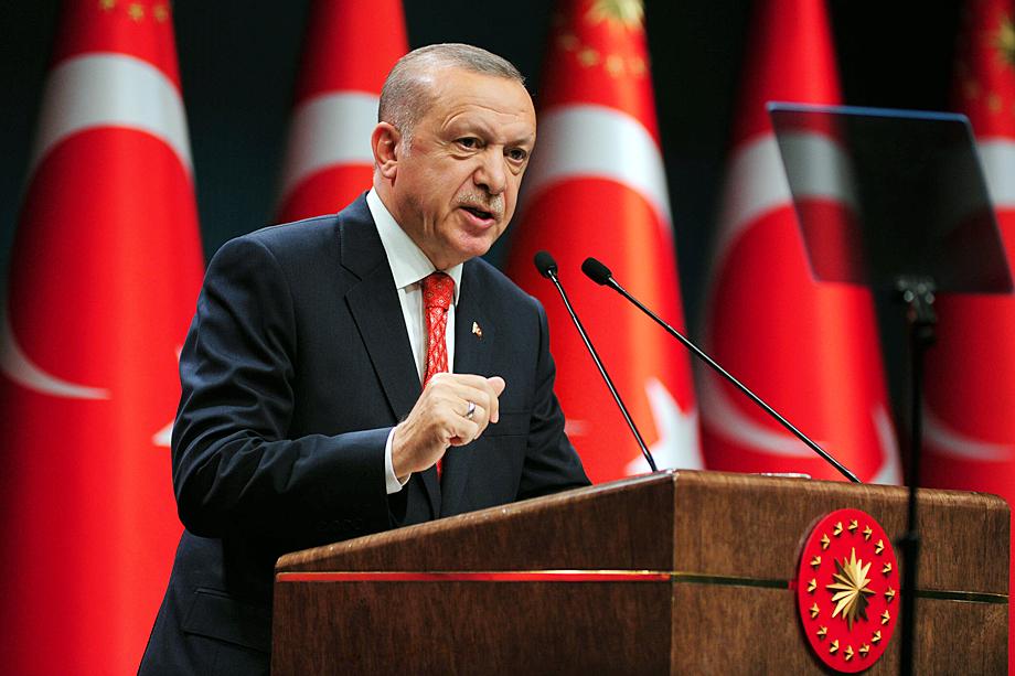 Султанские амбиции завоевателя не дают покоя воинственному Эрдогану.
