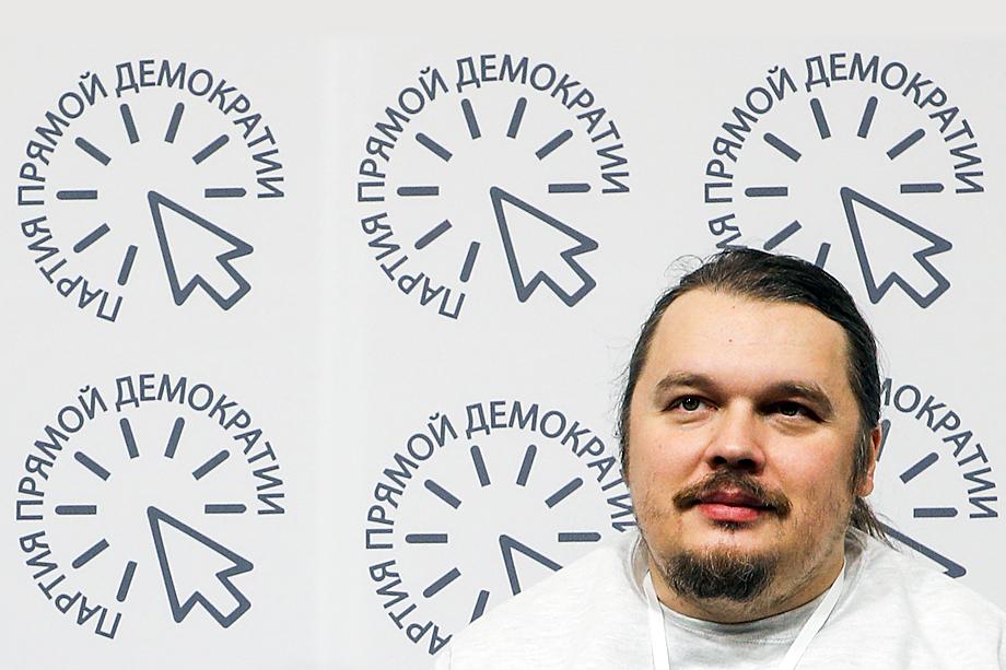 Вячеслав Макаров, основатель Партии прямой демократии.