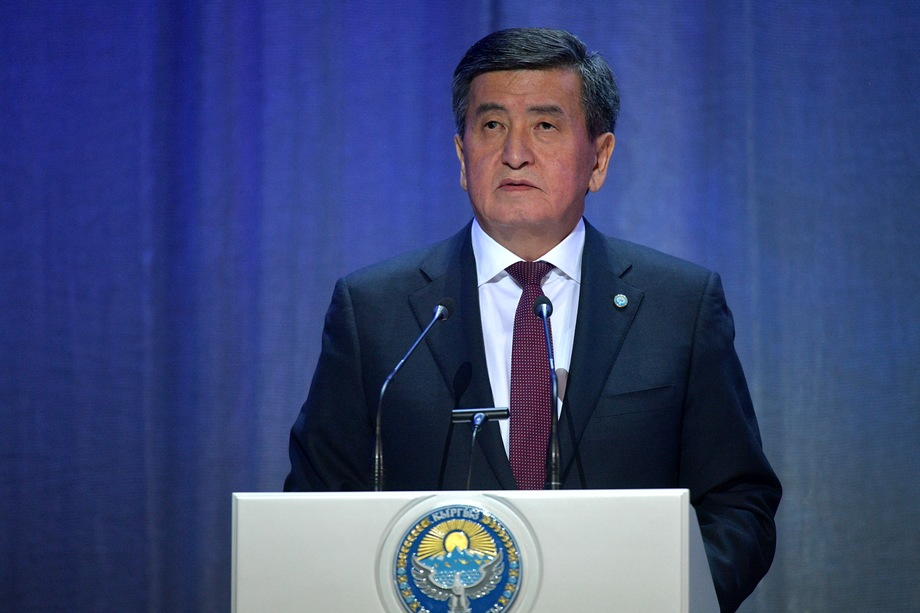 Пятый президент республики Сооронбай Жээнбеков вступил в должность в ноябре 2017 года.