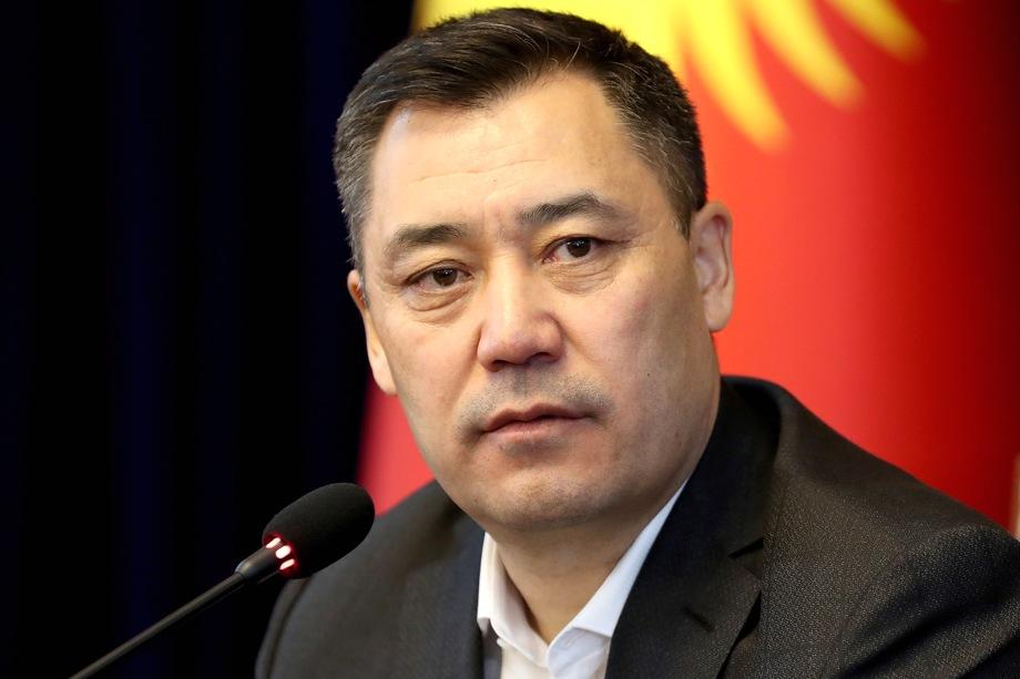 Жапаров взял на себя обязанности президента Киргизии.