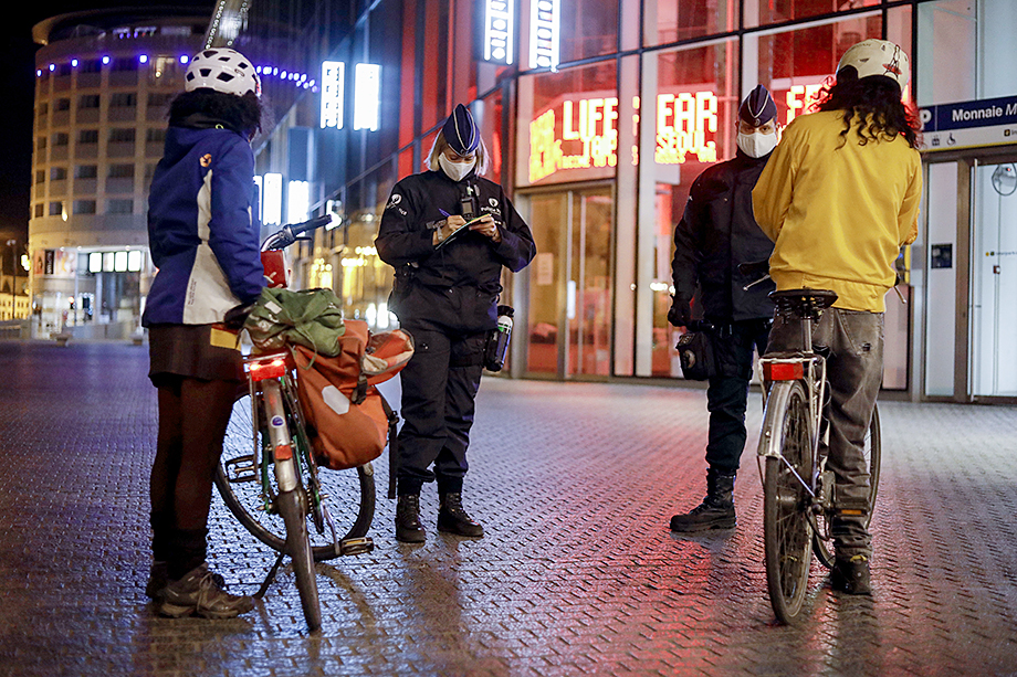 Комендантский час в Брюсселе: выходить из дома с полуночи до 5 утра запрещено.