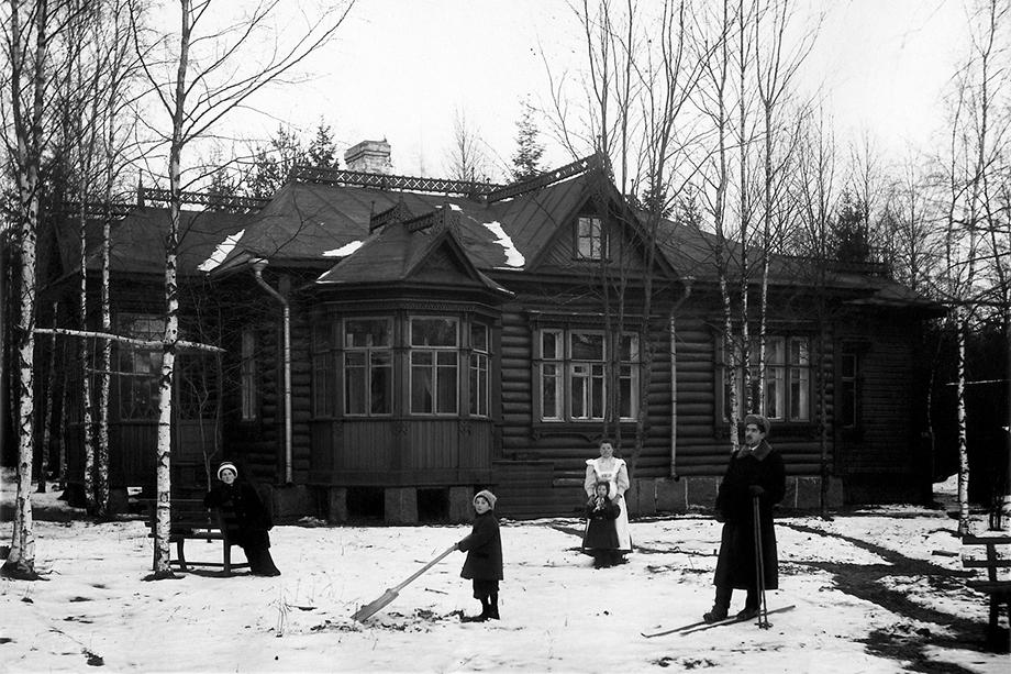 Семья Чуковских.