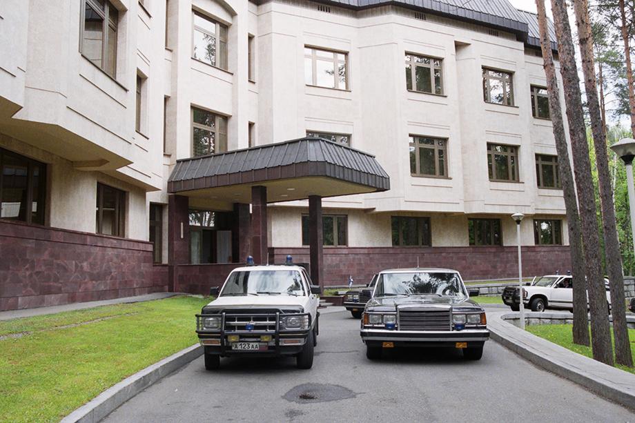 Ближняя дача Сталина. Москва. 1999 год.
