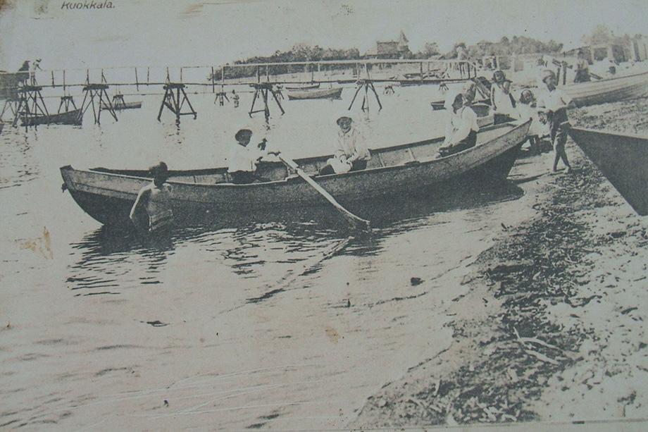 Пляж. 1920 год.