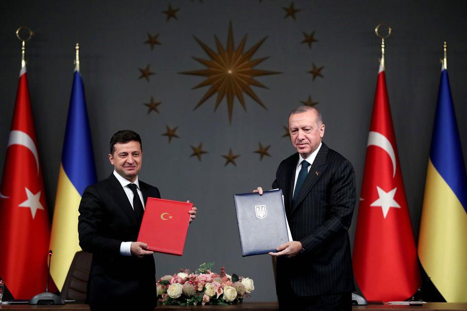 Во время визита Зеленского в Анкару в том числе было подписано соглашение о выделении Турцией Украине 26 млн долларов на военные нужды. 2020 год.