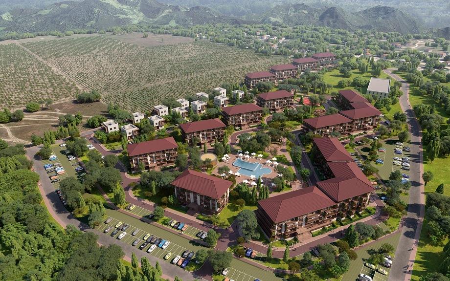 ZB Village: несколько четырёхэтажных корпусов и отдельные коттеджи, стоимость «квадрата» в которых начинается от 85 тыс. рублей.