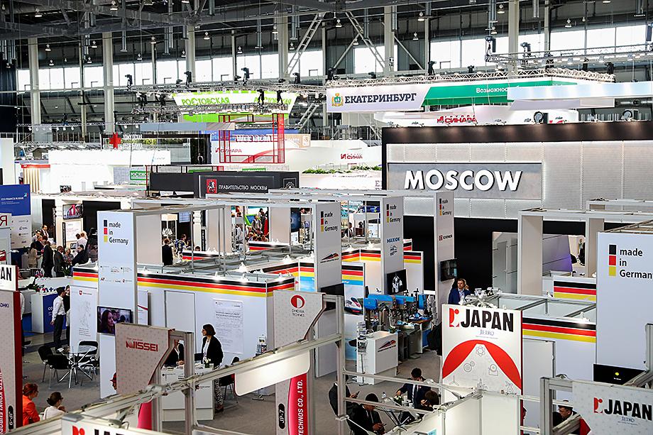 «Иннопром» – международная промышленная выставка, проводится в Екатеринбурге с 2010 года.