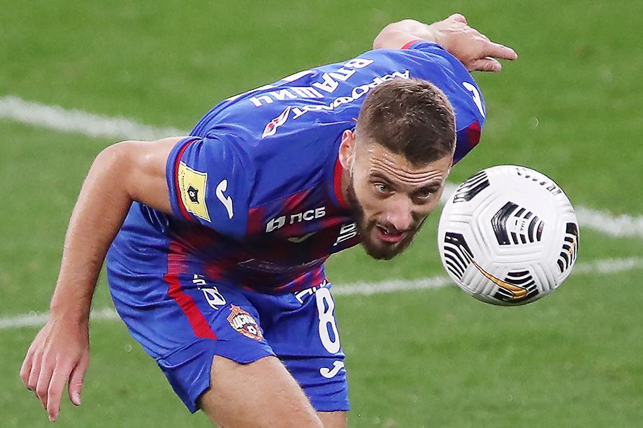 В октябре 23-летний спортсмен из Хорватии в составе ЦСКА выиграл четыре матча подряд.