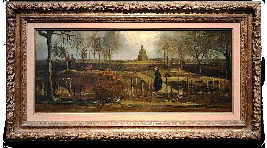 Картину Ван Гога «Весенний сад. Сад у дома священника в Нюэнене весной» похитители вынесли из закрытого на карантин музея Singer Laren.