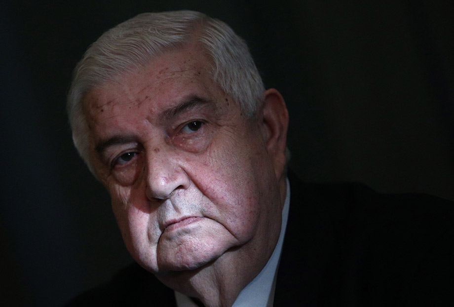 Должность главы МИД Валид аль-Муаллем занял в 2006 году.
