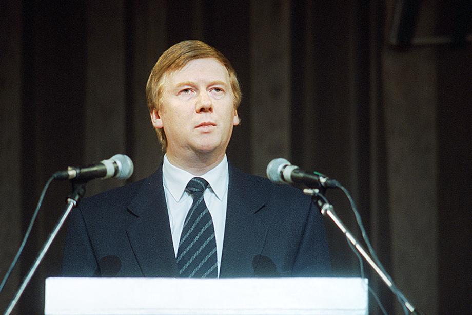 В 1996 году руководителем администрации президента Бориса Ельцина стал 41-летний Анатолий Чубайс.