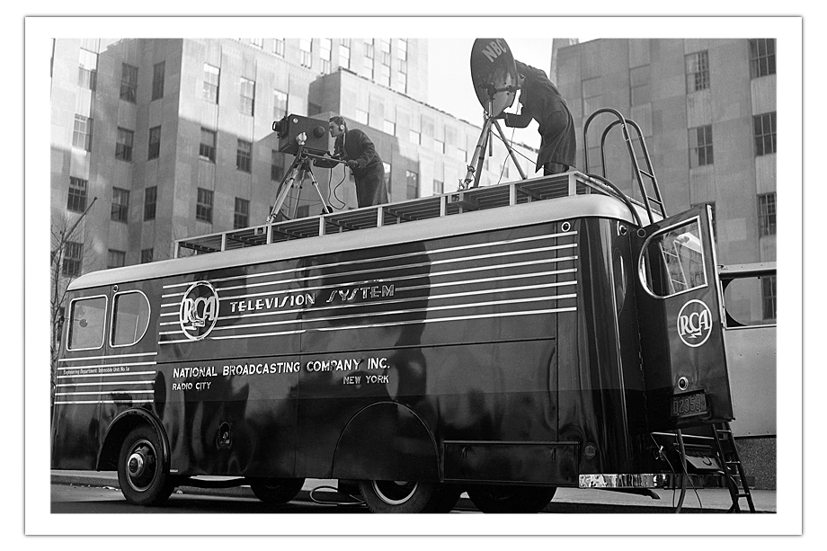 Mobile TV Station. 1937 год.