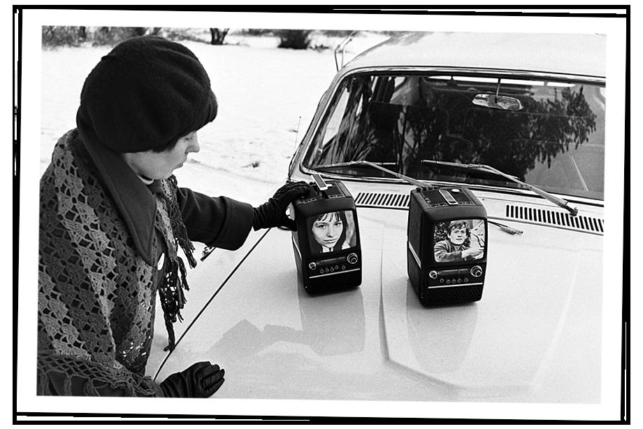 Микротелевизор «Шилялис» Каунасского радиозавода из опытной партии. Литовская ССР. Каунас. 1 декабря 1977 года.