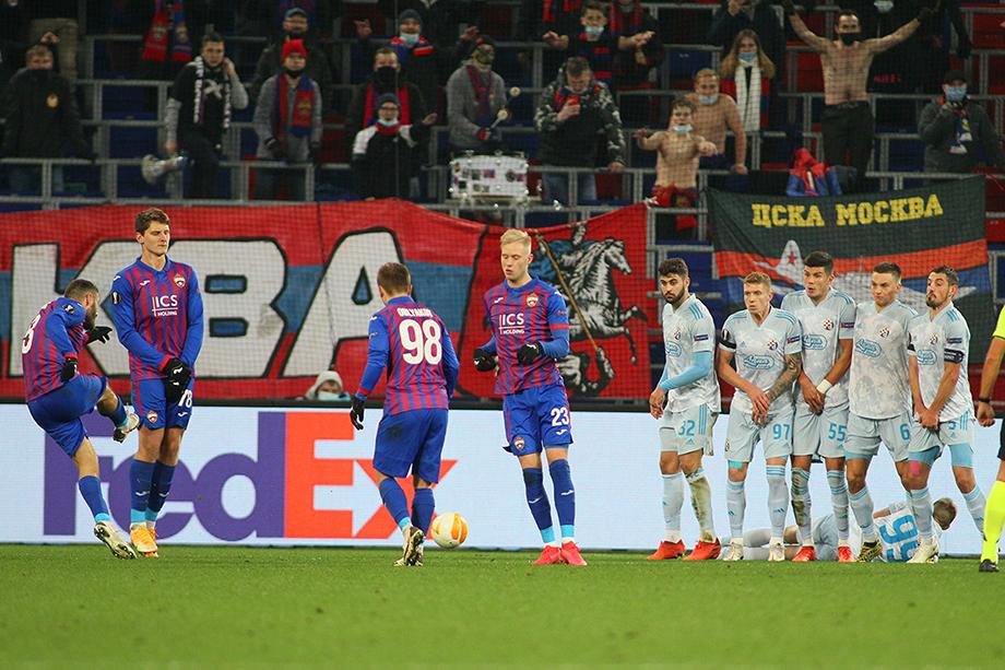 Роспотребнадзор зафиксировал нарушение социальной дистанции и отсутствие средств индивидуальной защиты у болельщиков ЦСКА.