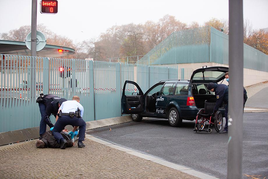 Водителя автомобили задержали.