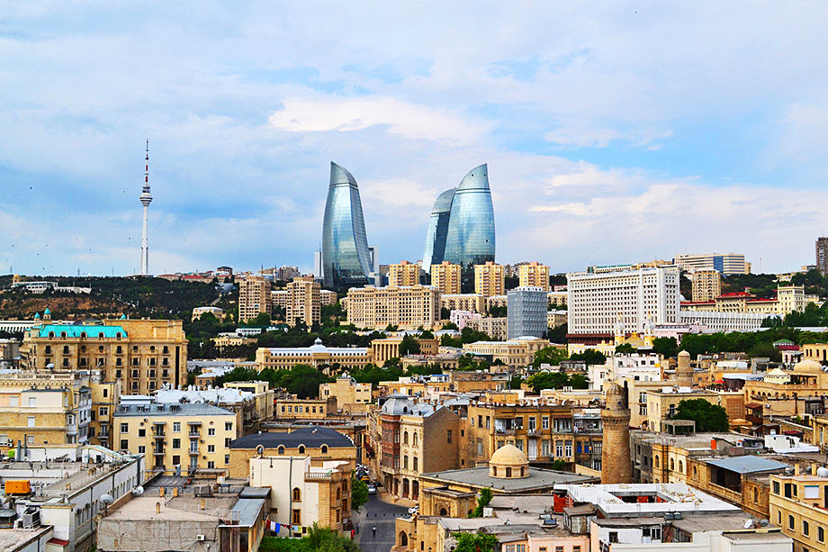 Баку. 2020 год.