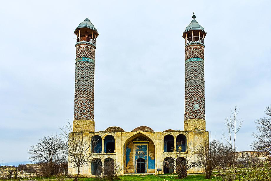 Агдамская мечеть (ХIX век). 2018 год.