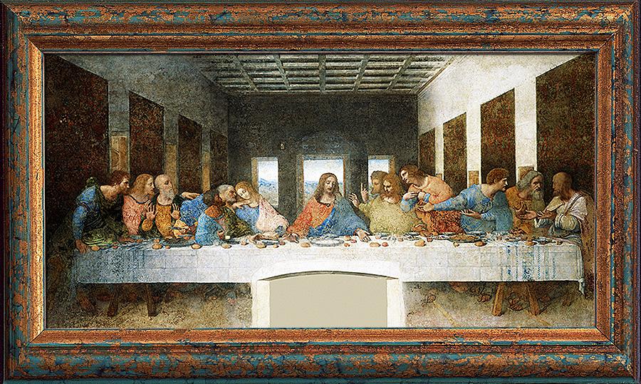 Леонардо да Винчи. «Тайная вечеря»