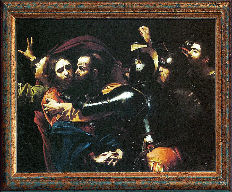 Караваджо. «Поцелуй Иуды»