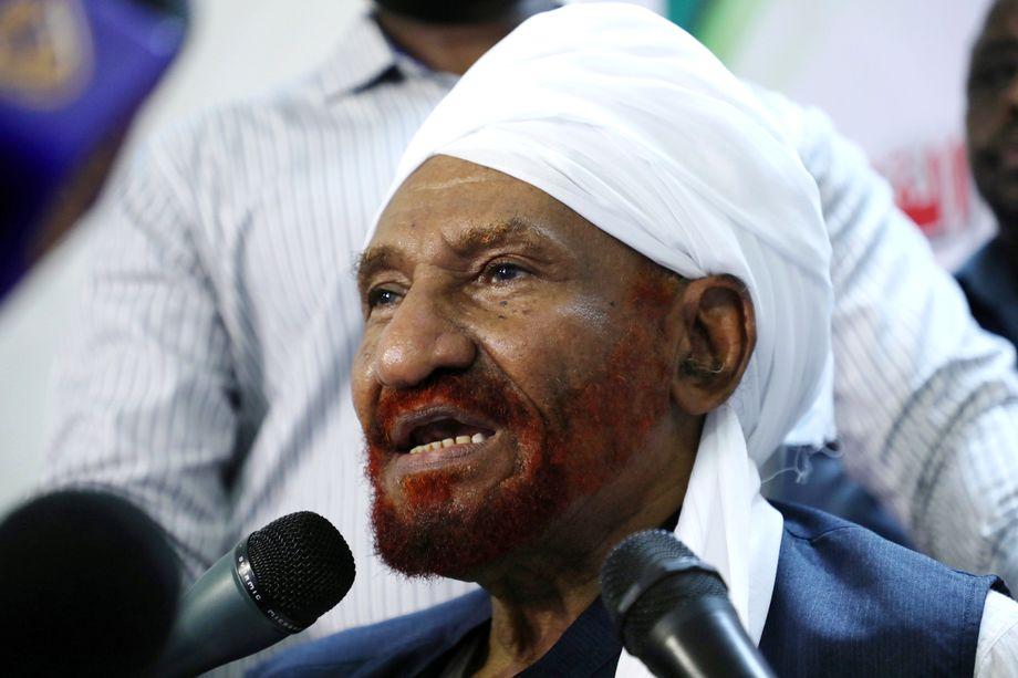 Бывший премьер возглавлял оппозиционную партию «Аль-Умма».