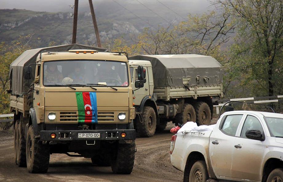 Азербайджанские военные осваиваются на территориях, которые в соответствии с трёхсторонним соглашением перешли Баку.