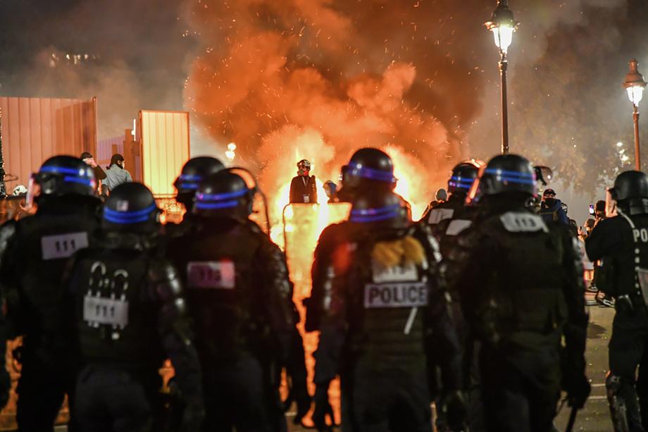Протестующие выступили против законопроекта «О глобальной безопасности».