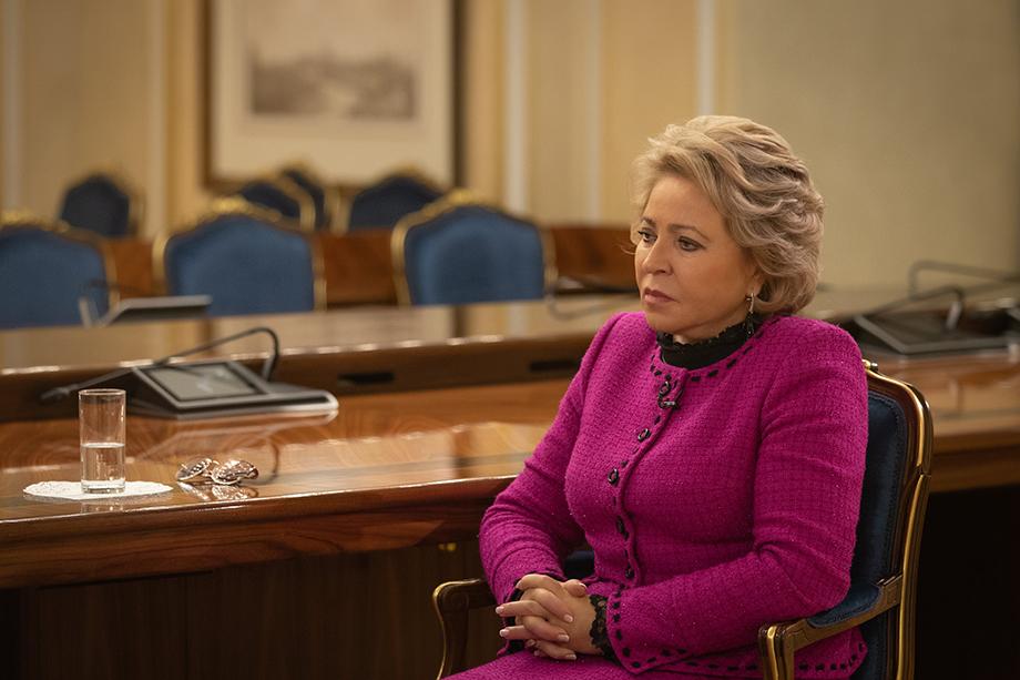 Заседание Совфеда она поручила провести Андрею Яцкину и президиуму совета.